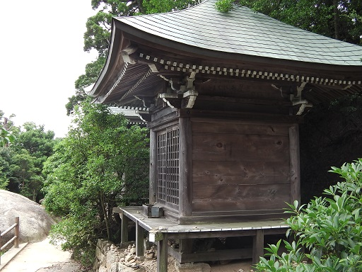弥山の文殊堂