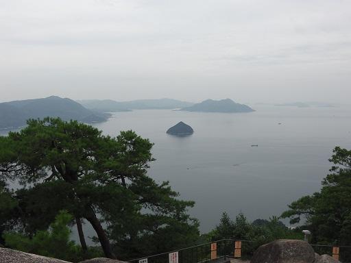 獅子岩展望台からの景色