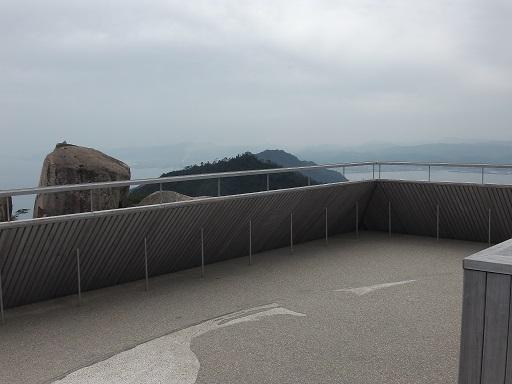 弥山展望台3階