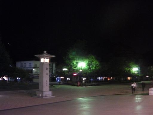 夜の宮島桟橋