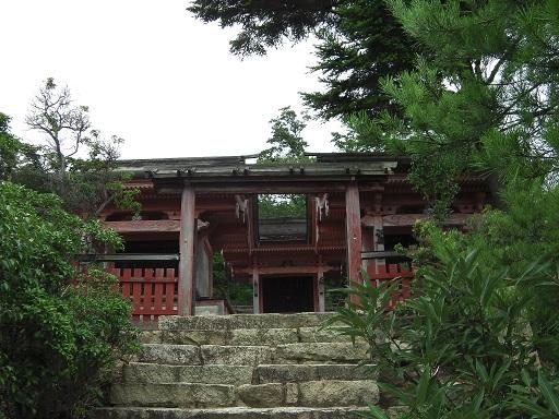 御山神社正面