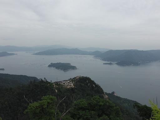弥山展望台からの眺め