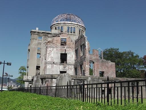 平和公園の原爆ドーム