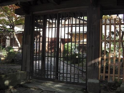 天心閣の門