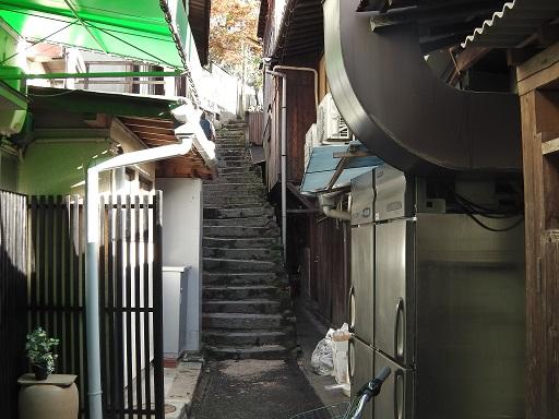 天心閣へ続く階段