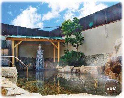 広島から1時間以内で行ける天然温泉!24時間営業のスパシーレを紹介!