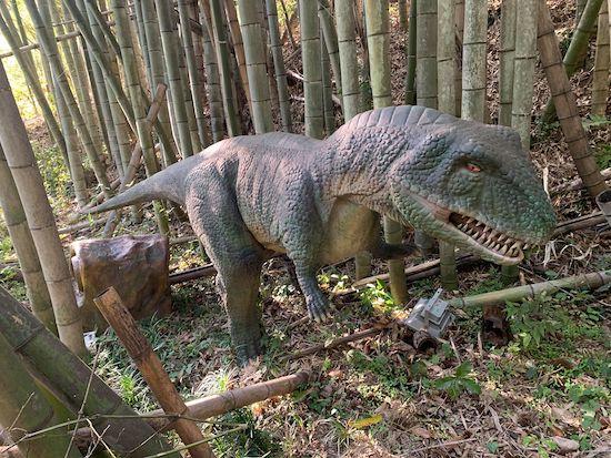 ダイナソーパークの恐竜の写真