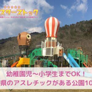 幼稚園児~小学生までOK!広島県のアスレチックがある公園10選!